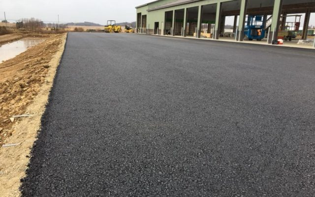 Commercial and industrial paving
